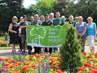 Abbey Gardens Green Flag