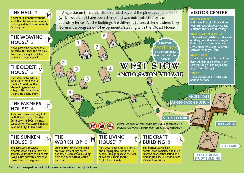 Village site map